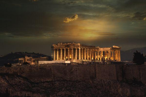 Acropolis sunset thumbnail