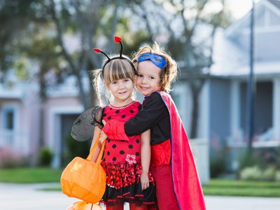 """Girls are saying """"let it go"""" to princess costumes in favor of superheroes."""