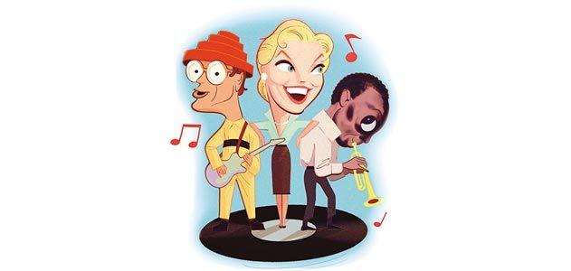 Doris Day Miles Davis and Devo