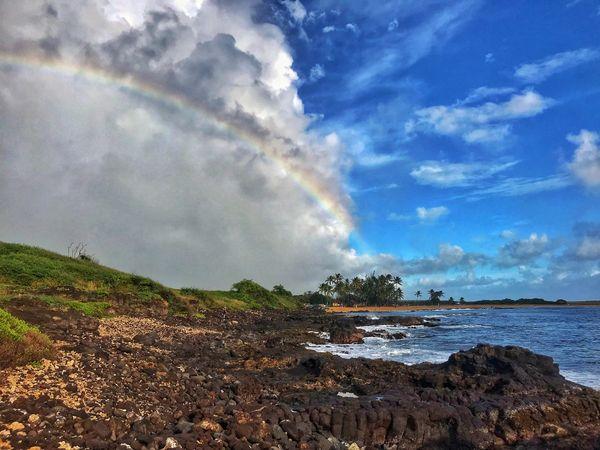 Rainbow at Salt Pond Beach Park  thumbnail