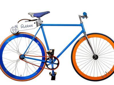 The Rubbee electric drive turns your bike into an e-bike.