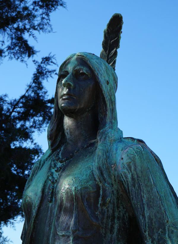 Pocahontas by William Ordway Partridge thumbnail
