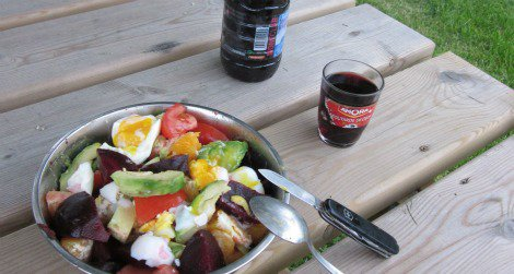 salad of beets