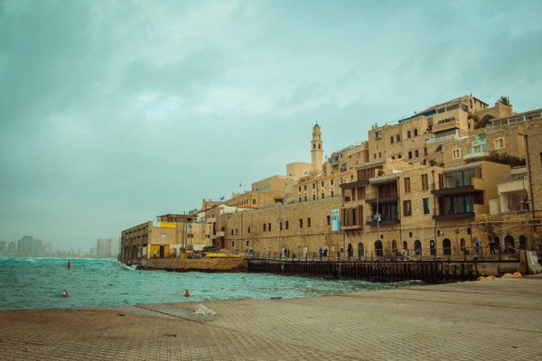 Old Jaffa on a cloudy day thumbnail