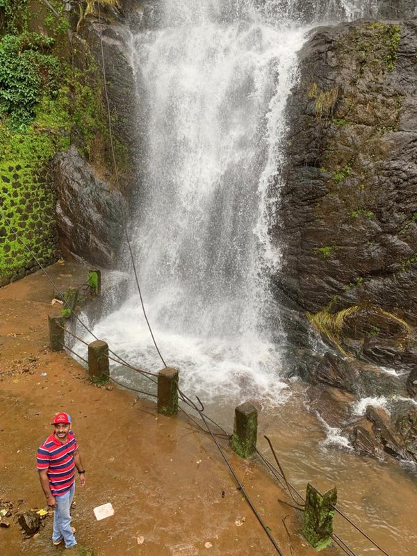 Near the famous waterfall in kerala thumbnail