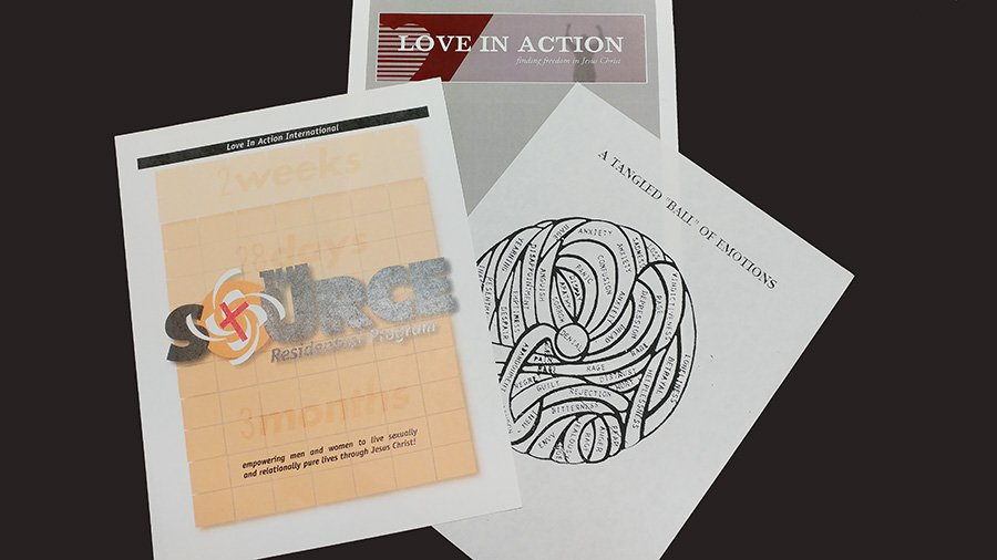 Pamphlets and other paper materials