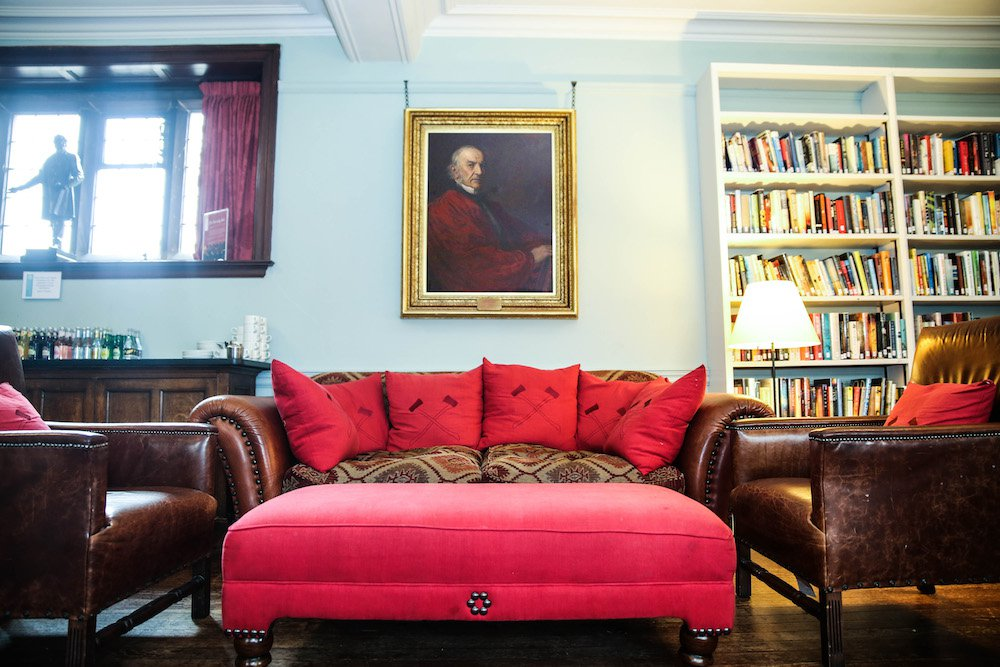 I Spent the Night at a Library in Wales, and You Can Too
