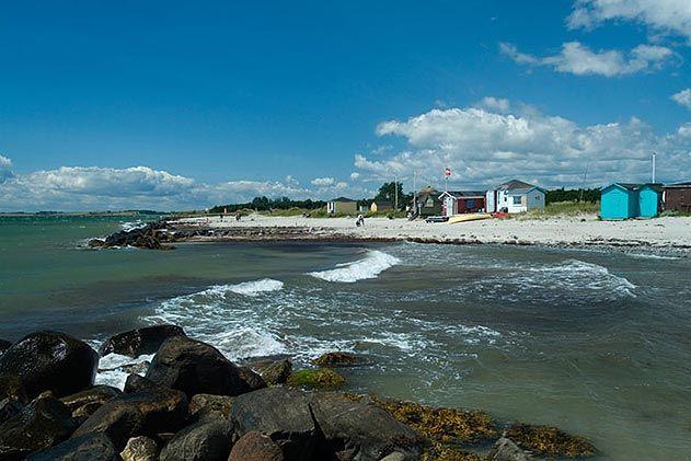 Beach houses Aero Denmark