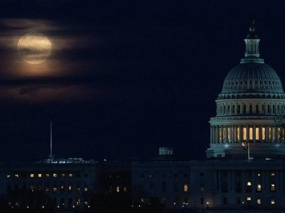 The supermoon in March, called a Worm Moon, was the first of three supermoons in a row.