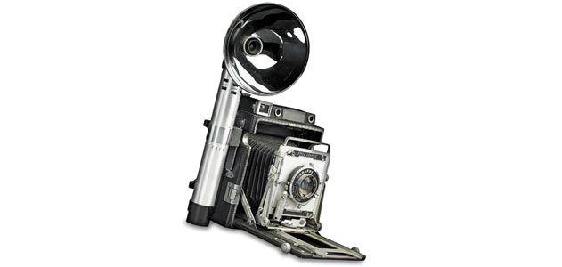 Graflex Speed Graphic camera
