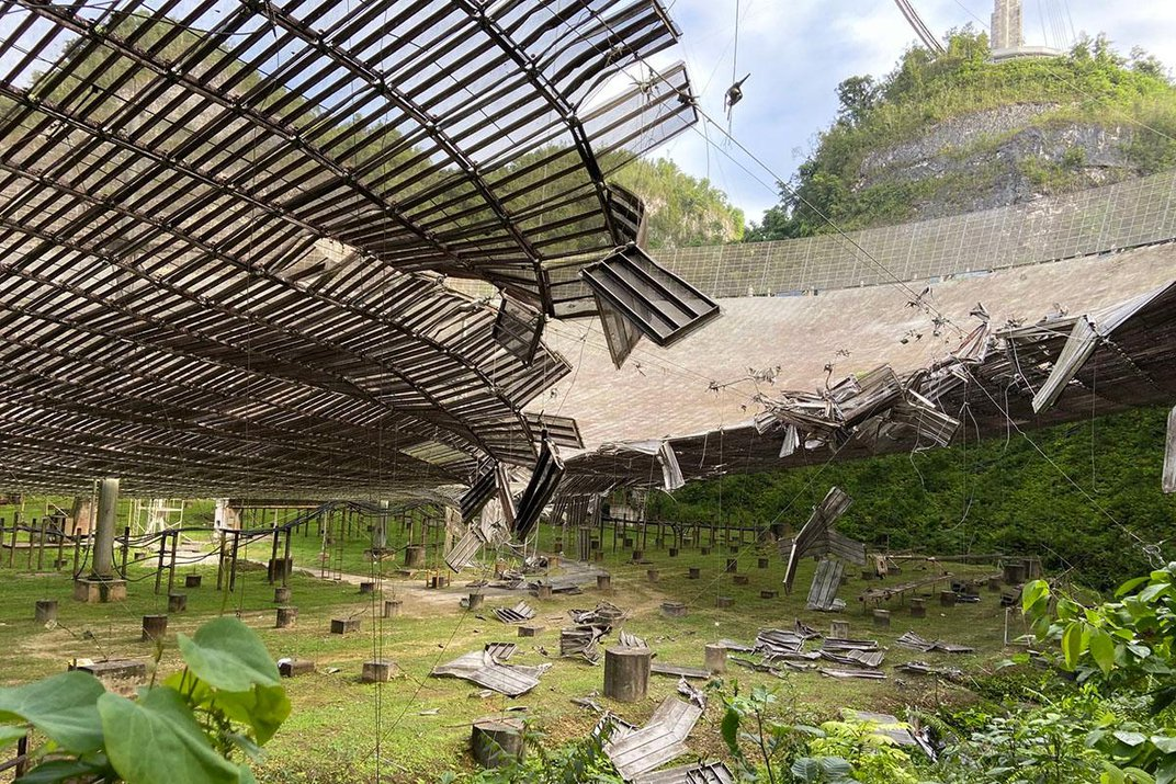 A Cable Snapped, and the Arecibo Observatory Went Dark. Here's Why That Matters