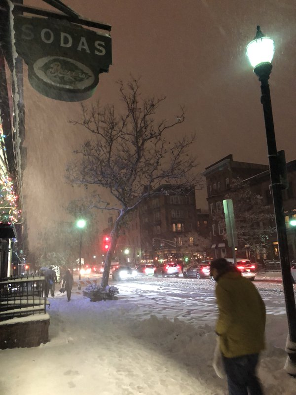 Surprise Snowstorm At Evening Rush Hour thumbnail
