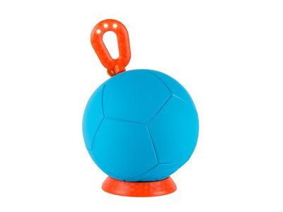 A Soccket is only one ounce heavier than a standard-issue soccer ball and generates three hours of power after one hour of play.
