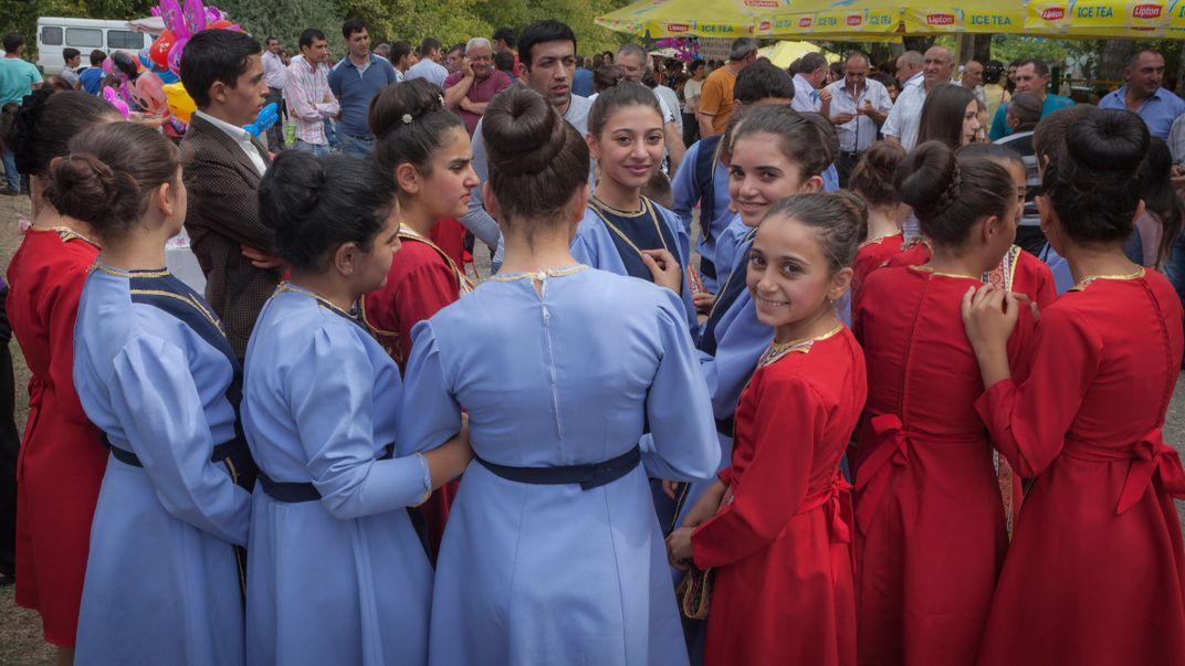 Festival de Folklife Com a Principiant de Conversa