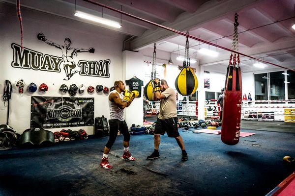 Boxing training thumbnail