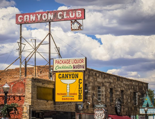 Canyon Club, Williams, Arizona on Route 66 thumbnail