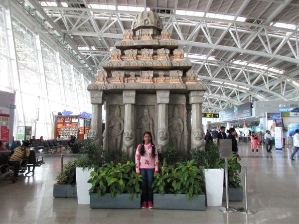 UNESCO Monument inside Chennai Airport thumbnail