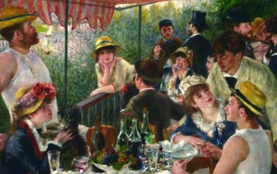 Luncheon of the Boating Party (1881) by Pierre-Auguste Renoir