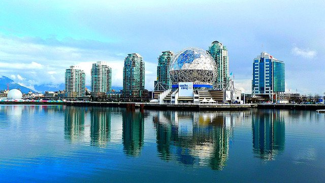 The Vancouver Olympic Village