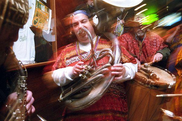 """Mardi Gras on South Street with """"The Wild Bohemians"""" thumbnail"""