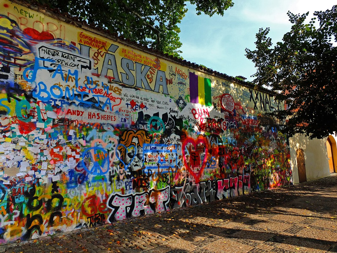 Prague's Famous John Lennon Wall: Is It Over, or Reborn?
