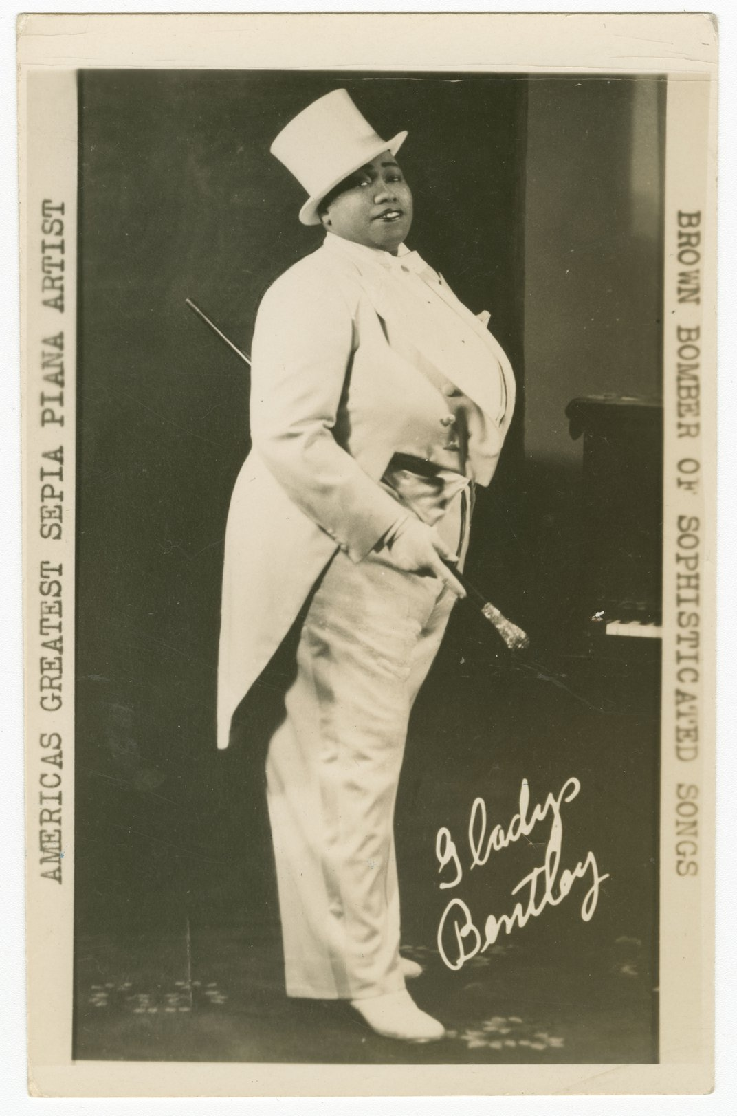 The Great Blues Singer Gladys Bentley Broke All the Rules
