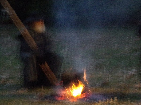 Old Man and Fire thumbnail