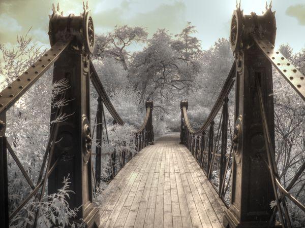 Forest Park Bridge St. Louis Missouri Infrared thumbnail