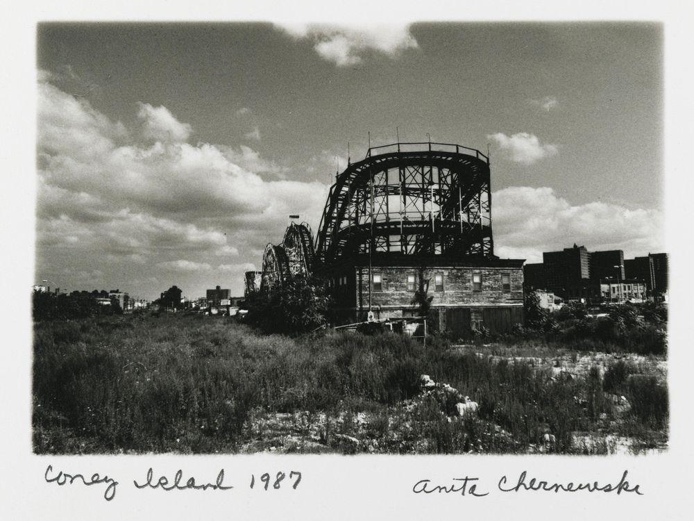 Anita Chernewski (American, b. 1946), Coney Island (Thunderbolt), 1987, Gelatin silver print