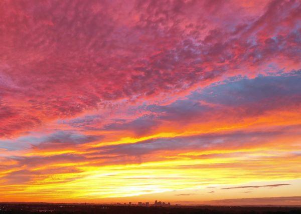 Sunset over Nashville thumbnail
