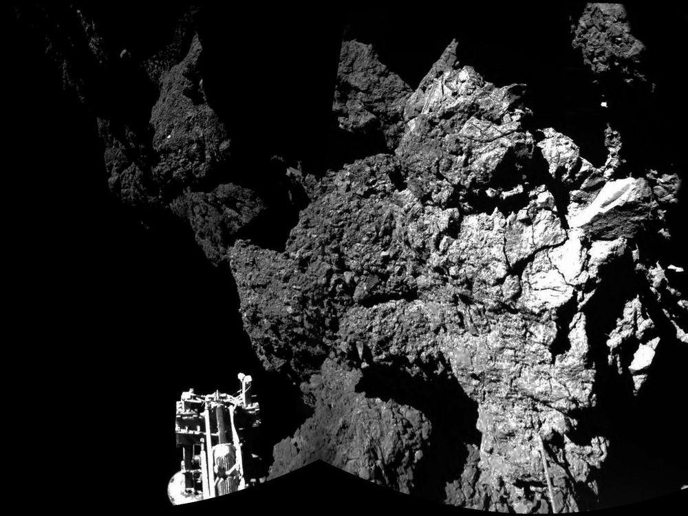 philae on comet