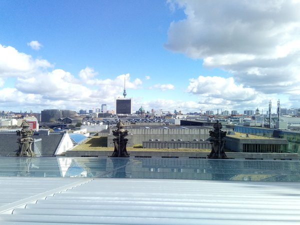 Berlin view from the top of Reichstag (Bundestag) thumbnail