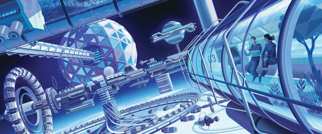 The Future of Zero-Gravity Living Is Here
