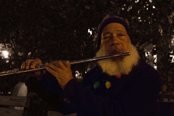 Flute Player in the Park thumbnail