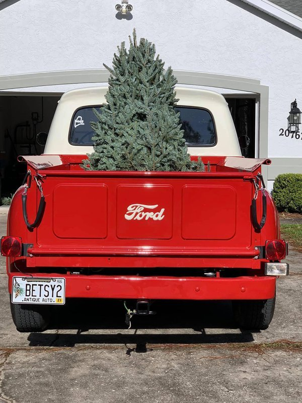 1965 F100 Christmas Tree Delivered thumbnail