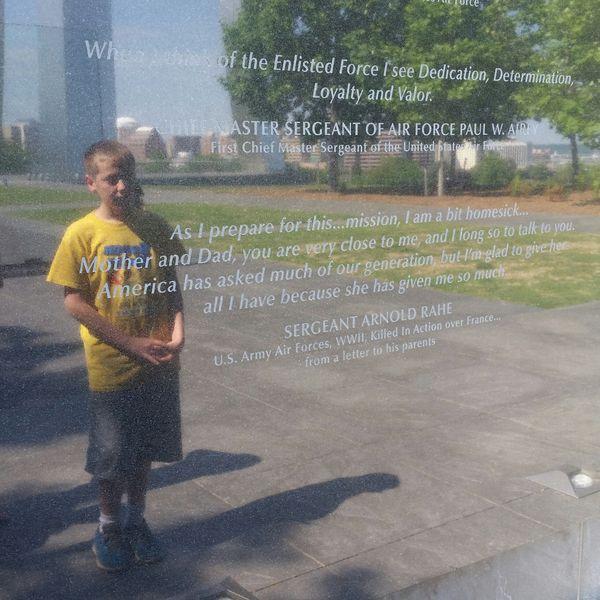 Reflections at the Air Force Memorial thumbnail