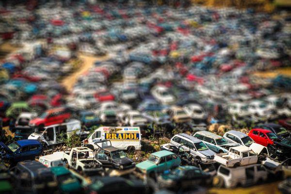My toy car scrapyard thumbnail