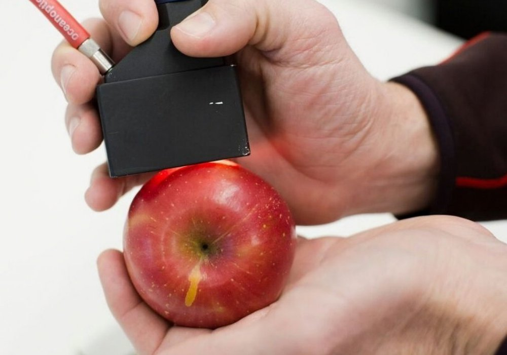 Spectrometer and apple