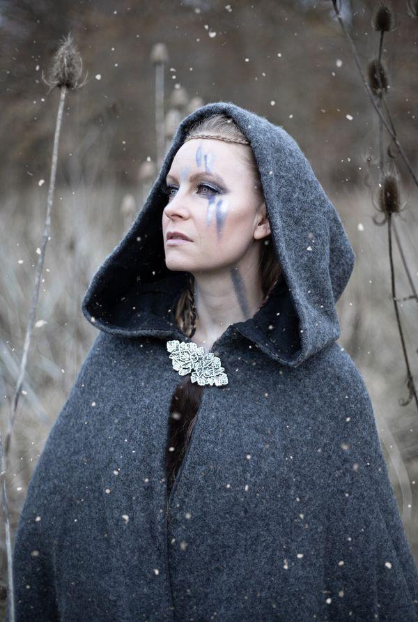 Nordic tribe queen gazing thumbnail