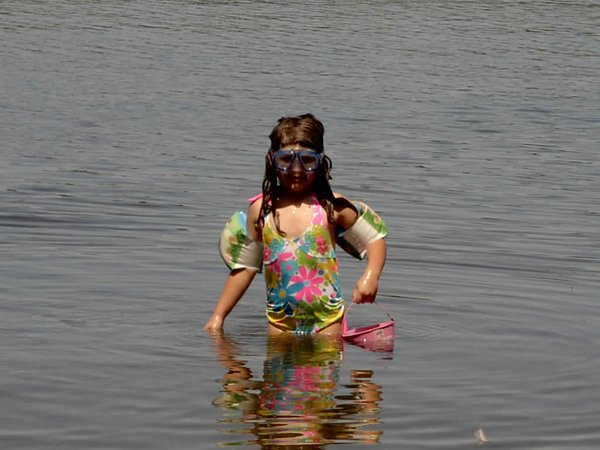 To a child, swimming is an adventure thumbnail
