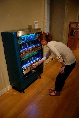 Art Out of a Vending Machine?