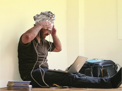 This device makes it possible to communicate with your mind.