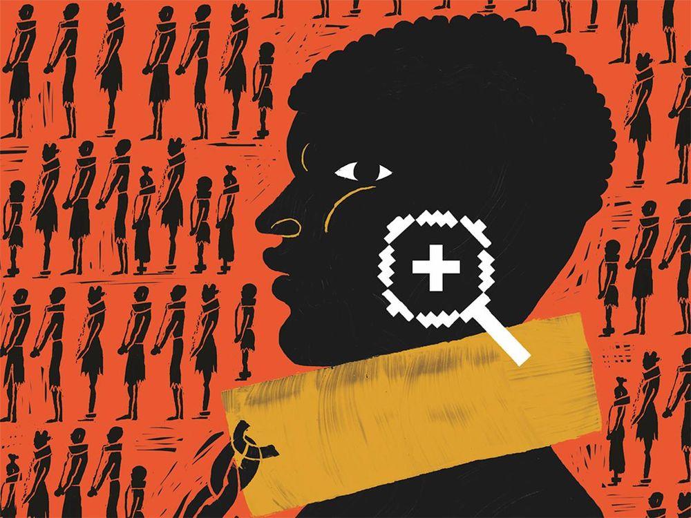 opening enslaved people archive illustration