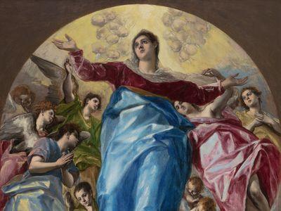 El Greco, The Assumption of the Virgin, 1577–79