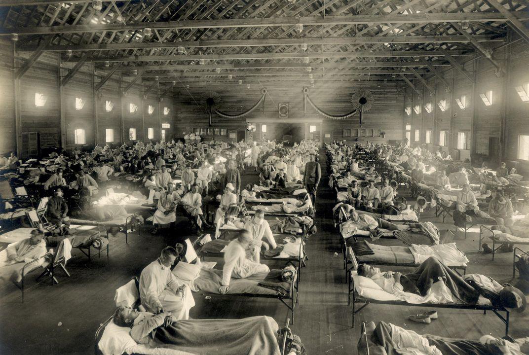 How the Horrific 1918 Flu Spread Across America   History ...