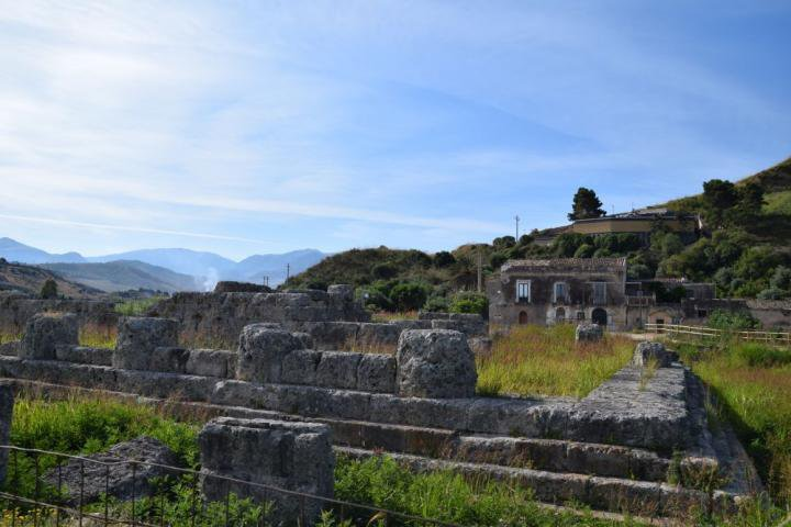 Temple of Victory in Himera, Sicily