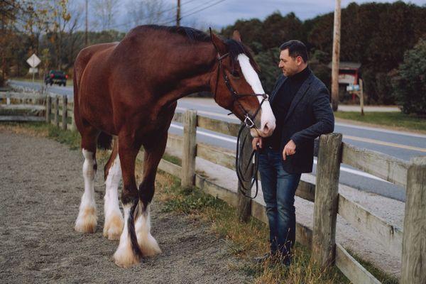 Man and his horse thumbnail