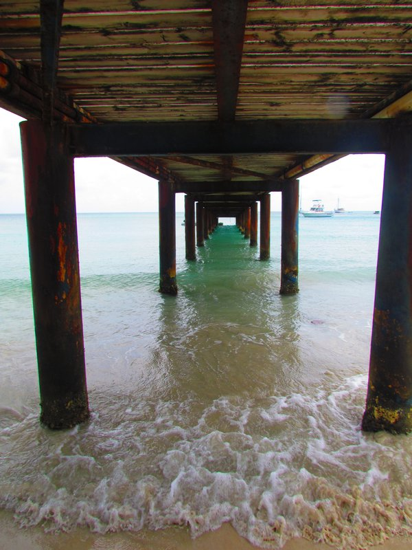 Peering under the pier thumbnail