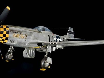 The P-51 Mustang was the darling of the Army Air Forces. Aerodynamically agile and acrobatic, the aircraft was fast and furious in its effectiveness in downing enemy aircraft.