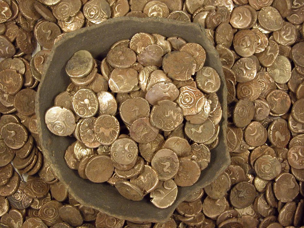 Iron Age coin hoard
